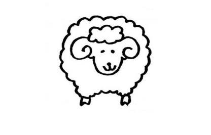 咩咩的小羊_动物简笔画-e学堂
