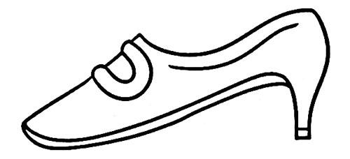 教你如何画高跟鞋 漂亮的高跟鞋