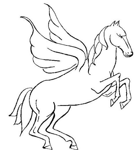 带翅膀的马儿_动物简笔画-e学堂