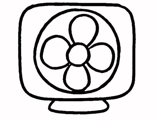 教你如何画电风扇 方便的电风扇图片