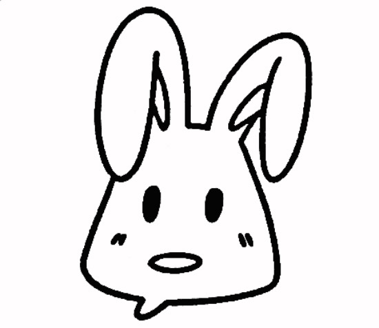 教你如何画兔子 乖乖的兔子