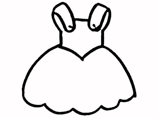教你如何画连衣裙 漂亮的裙子