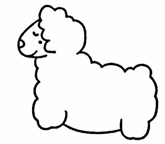 怎么画动物简画
