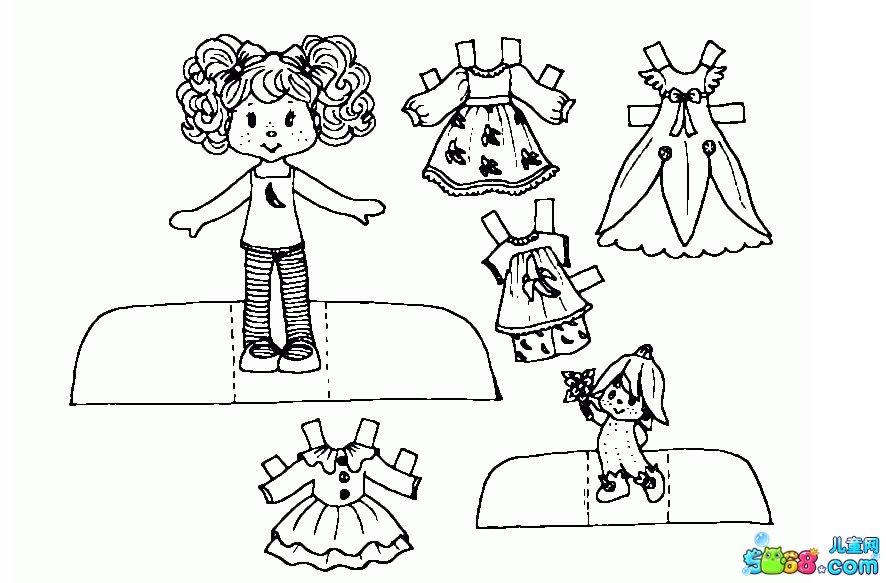 手绘衣服100种画法