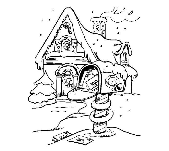 房子手绘图片简笔画
