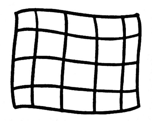 教你如何画毛巾 干净的毛巾 生活用品简笔画