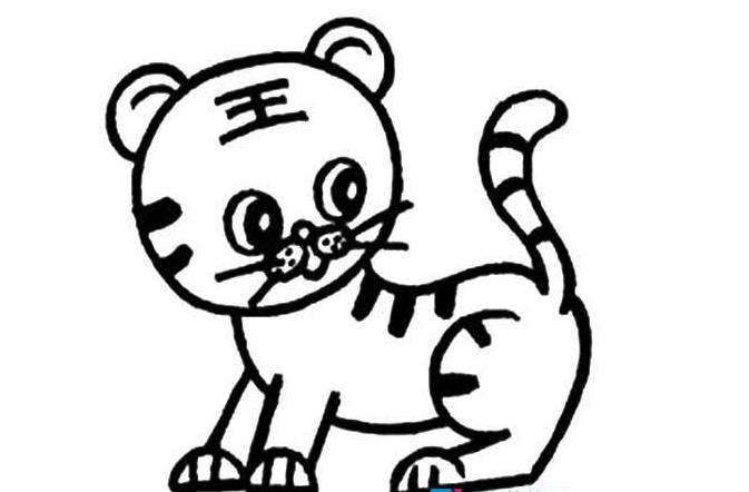 百兽之王_动物简笔画-e学堂