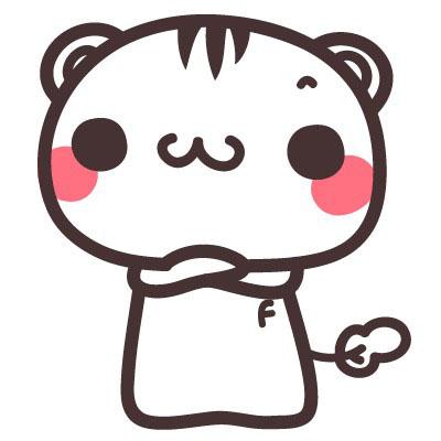 可爱的小乖猫_动物简笔画-e学堂
