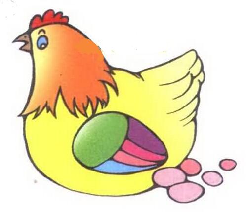 母鸡简笔画图片大全
