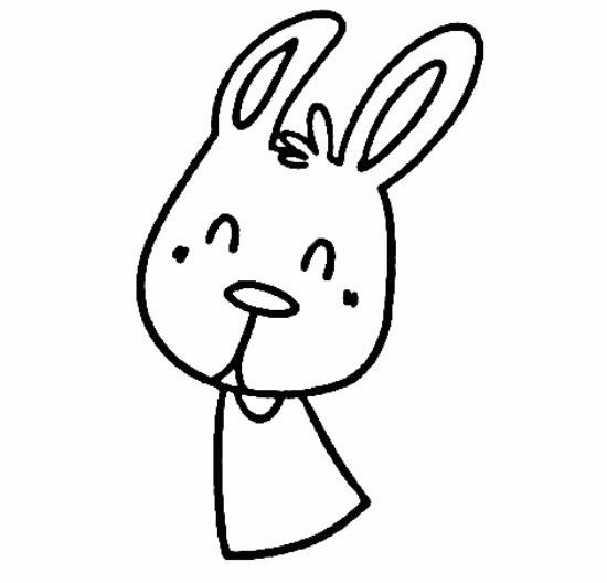 教你如何画兔子 跳舞的兔子_简笔画教程-e学堂