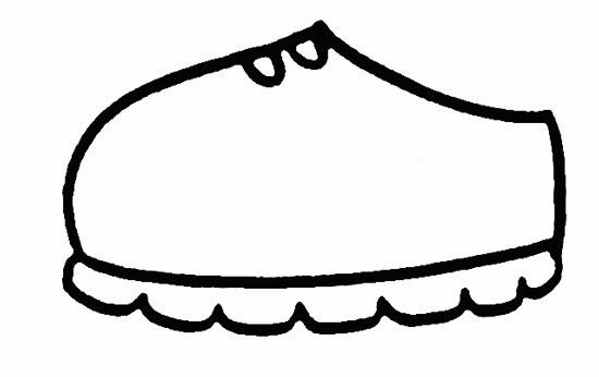 教你如何画球鞋 球鞋 _简笔画教程-e学堂