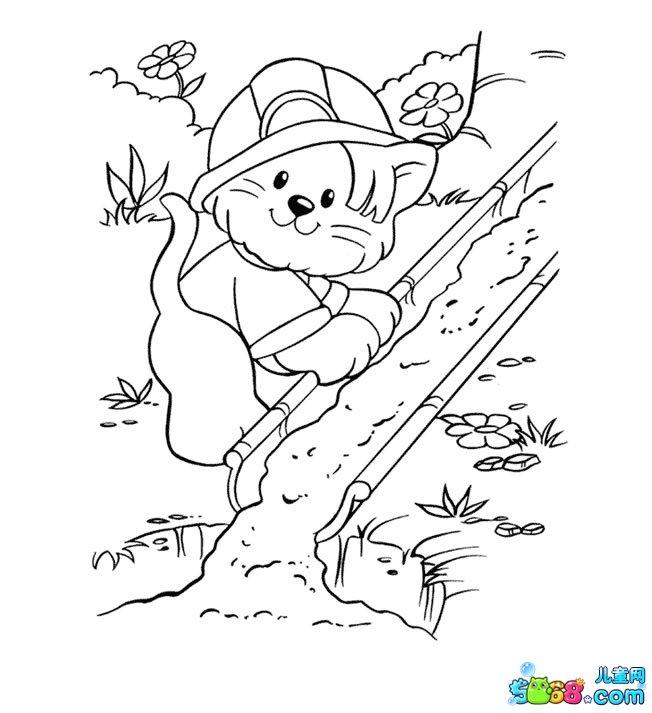 小松鼠去爬山