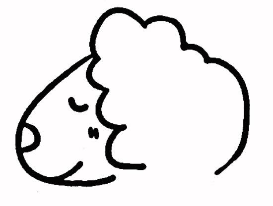 怎么教小孩画动物图片