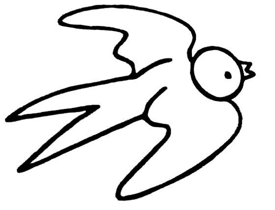 春天的小燕子_动物简笔画-e学堂
