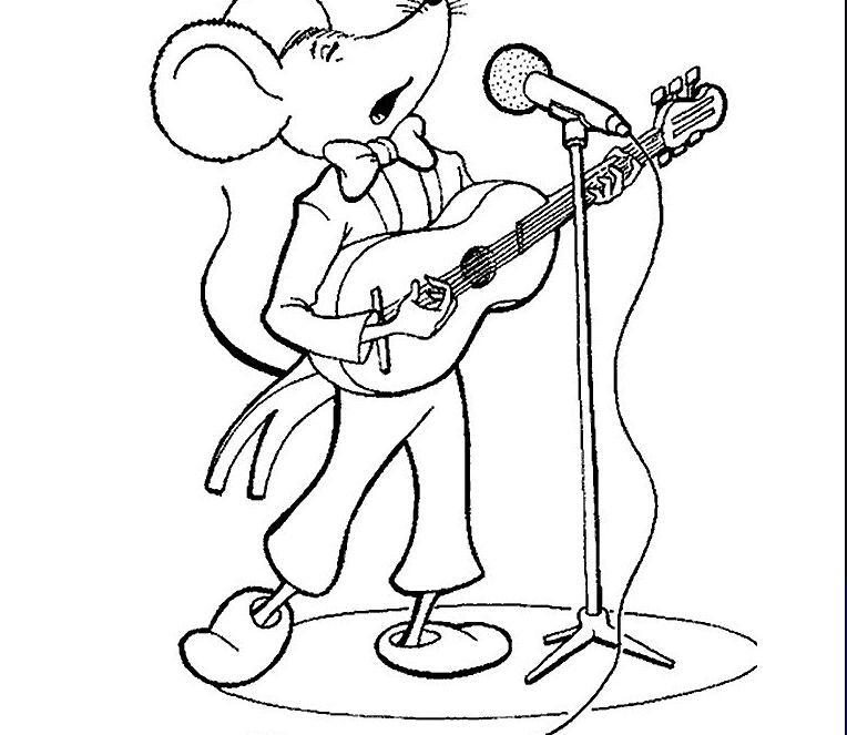 老鼠爱唱歌_动物简笔画-e学堂