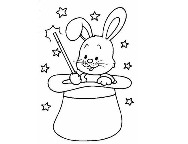 调皮的兔子_动物简笔画-e学堂