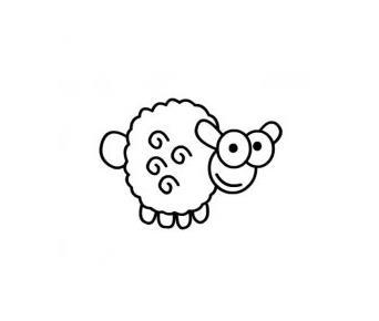 过新年的羊羊_动物简笔画-e学堂