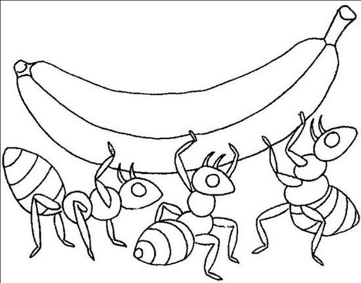 香蕉简笔画图片可爱