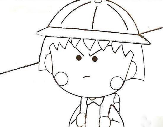 樱桃手绘卡通简笔画