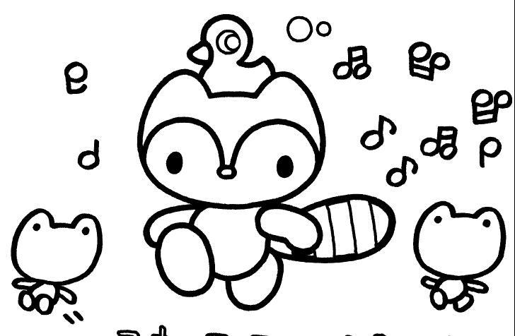 小松鼠和朋友们_动物简笔画-e学堂