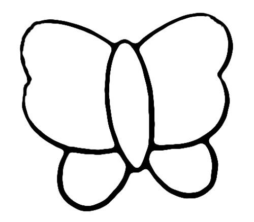 教你如何画蝴蝶 蝴蝶翩翩起舞