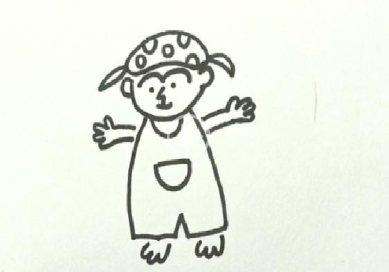 简笔画之如何画小孩_人物简笔画-e学堂