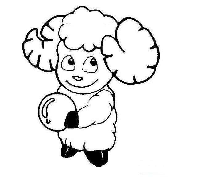 爱运动的羊羊_动物简笔画-e学堂
