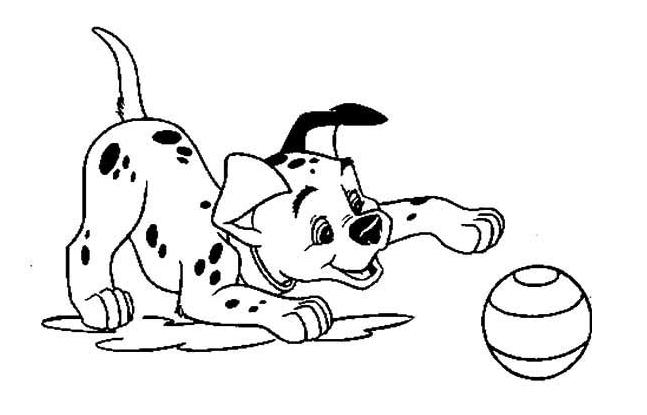 爱玩耍的小狗_动物简笔画-e学堂