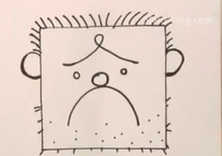 正方形简笔画之囚犯