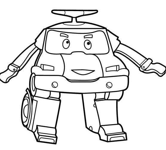 酷酷的机器人_人物简笔画-e学堂