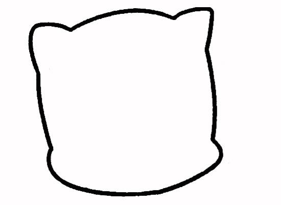 教你如何画小猫 好奇的小猫_简笔画教程-e学堂