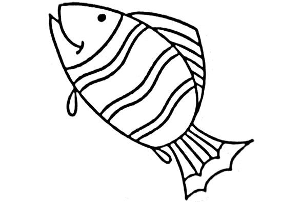 可爱鱼简笔画大全