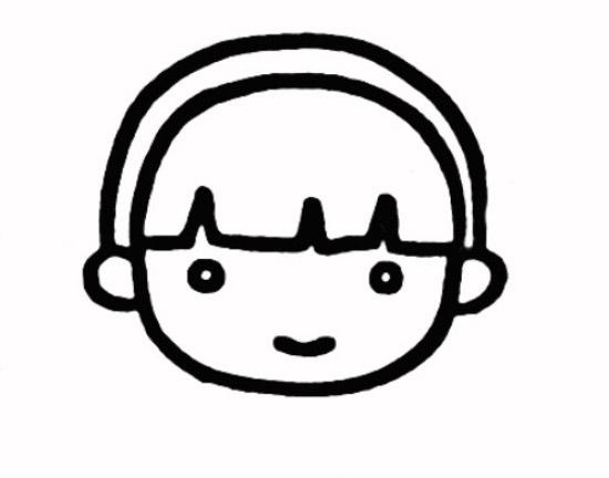 教你如何画布娃娃 可爱的布娃娃