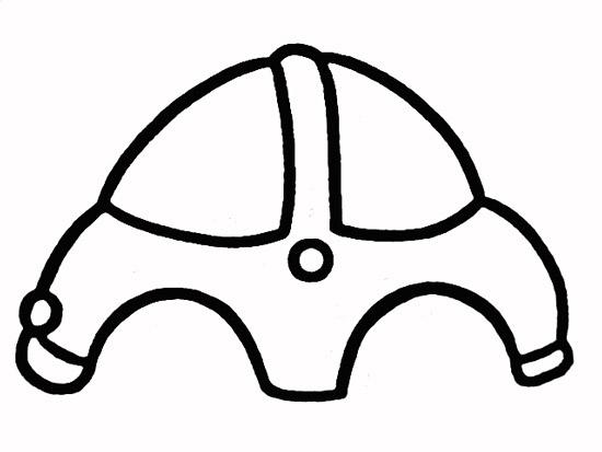 教你如何画小汽车 舒适的小汽车