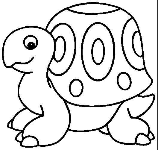 乌龟漫画简笔画