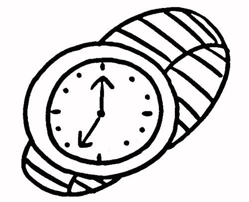 手表简笔画. 图片合集