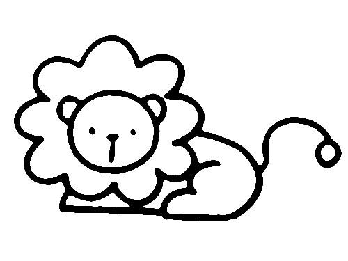 教你如何画狮子 威武的狮子_简笔画教程-e学堂