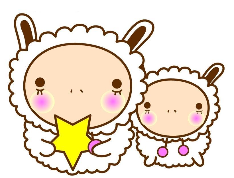 吃星星的小羊_动物简笔画-e学堂