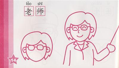 老师简笔画动漫简单